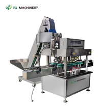 Cap Sealing Machine with Lid Feeder