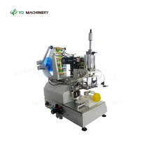 Semi Automatic Corner Labeler for Bottle Box Hologram Labeling Machine
